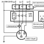Схема подключения 3-х фазного котла