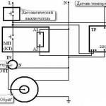 Схема подключения электронного блока управления