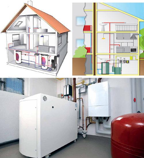 Альтернативное отопление на биотопливе